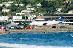 Aeroporto internazionale di Wellington Fotografia Stock Libera da Diritti