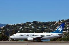 Aeroporto internazionale di Wellington Fotografia Stock