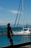 Wellington-Jachthafen stockfotos