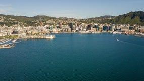 Wellington Harbor royalty-vrije stock afbeeldingen