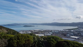 Wellington Harbor Fotos de archivo