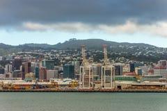 Wellington Harbor Lizenzfreies Stockbild