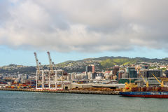Wellington harbor Stock Photography