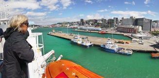 Free Wellington Harbor Port, New Zealand Stock Images - 91102224