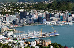 Wellington Cityscape Stock Photos