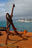 Wellington harbour Stock Photo
