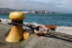 Wellington harbour Stock Image