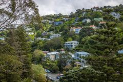 Wellington Hill Houses. Stock Images