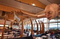Wellington International Airport - Nieuw Zeeland Stock Foto's