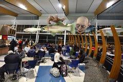 Wellington International Airport - Nieuw Zeeland Stock Fotografie