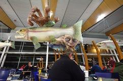 Wellington International Airport - Nova Zelândia fotografia de stock royalty free