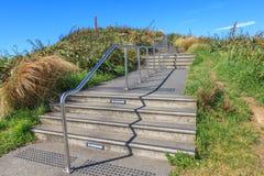 Wellington, la nuova Zelanda 29 novembre 2013 Pista di camminata in Mou Immagine Stock