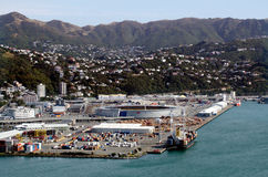 Wellington-Stadtbild Lizenzfreie Stockfotos