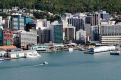 Wellington Cityscape Royalty Free Stock Images