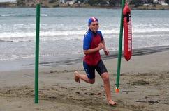 Młodości Triathlon zdjęcia stock