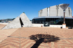 Wellington's Civic Square Stock Image