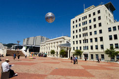 Wellington's Civic Square Royalty Free Stock Images