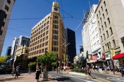 Wellington pejzaż miejski Zdjęcie Stock