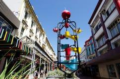 Wellington pejzaż miejski Obrazy Royalty Free
