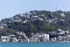 Wellington miasta przedmieście Fotografia Stock