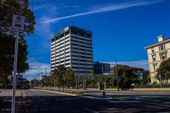 Wellington miasto Fotografia Royalty Free