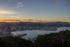 Wellington miasto Obrazy Stock