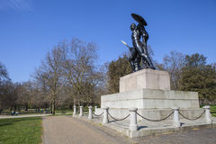 Wellington Monument in Hyde Park Royalty Free Stock Photography