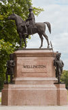 Wellington Monument in London Royalty Free Stock Photo