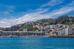Wellington, Neuseeland, am 13. Februar 2016 lizenzfreie stockfotografie