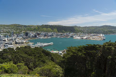Wellington, New Zealand Stock Image