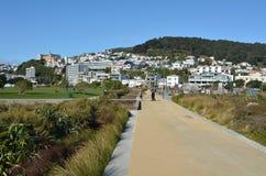 Wellington New Zealand cityscape Stock Photo