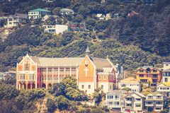 St Gerard`s Church and Monastery. Wellington, New Zealand - 13 February 2016: St Gerard`s Church and Monastery collectively form one of Wellington`s most Royalty Free Stock Photo