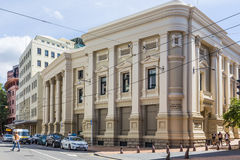 Wellington, New Zealand, February 13 2016: Town Hall Royalty Free Stock Image