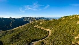 Wellington New Zealand, Karori Skyline Hiking Trail royalty free stock photos