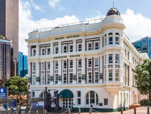 Wellington, Nieuw Zeeland, 13 Februari 2016: Wellington Harbour Board-bureaus royalty-vrije stock fotografie