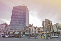 Wellington, Nova Zelândia - 3 de março de 2016: Arquitetura da cidade de Wellington Foto de Stock
