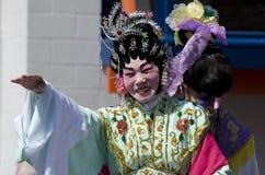 Wellington nowego roku Chiński wąż Zdjęcia Royalty Free