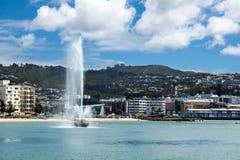 WELLINGTON, NUEVA ZELANDA - 11 DE FEBRERO: Costa en Wellington Fotos de archivo libres de regalías