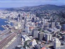 Wellington, Nueva Zelandia Imagen de archivo