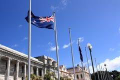 Wellington, Nuova Zelanda Fotografie Stock Libere da Diritti