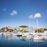 Wellington Oriental Bay Marina New Zealand Royalty Free Stock Photos