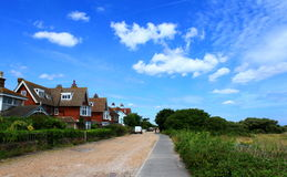 Wellington Parade Kingsdown Kent UK Royalty Free Stock Images