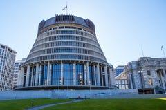 Wellington parlament Obrazy Royalty Free