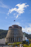 Wellington parliament building Royalty Free Stock Images