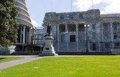 Wellington Parliament buildings NZ Royalty Free Stock Photography