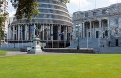 Wellington Parliament buildings NZ Stock Image