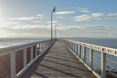 Wellington Point Jetty Fotografia de Stock Royalty Free