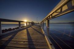 Wellington Point. Near Brisbane city stock images