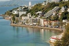 Wellington's Oriental Bay Stock Images
