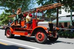 Wellington Santa Parade 2015, New Zealand Royalty Free Stock Image
